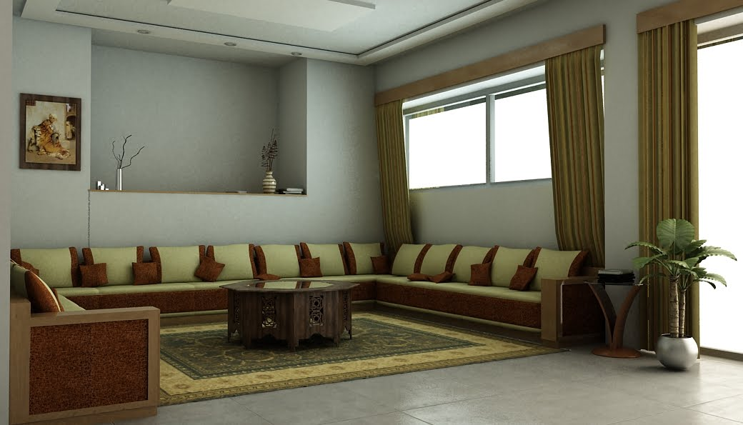 Portfolio kw v 0 1 design d 39 interieur marocain incomplet for Design d interieur casablanca
