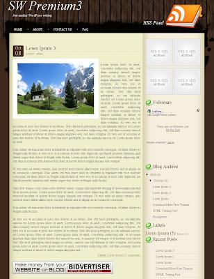 SW Premium3 Blogger Template