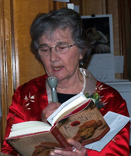 Photo of Katherine Paterson at An Evening at the Library, December 2, 2006