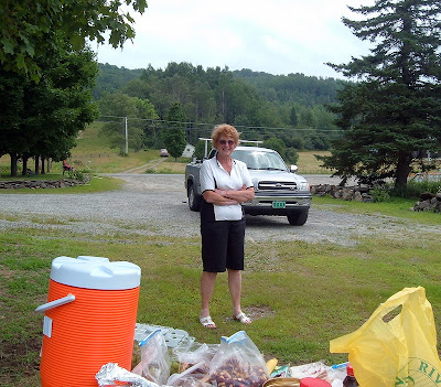 photo of Jeannette, owner of Sugarmill Farm, in Barton