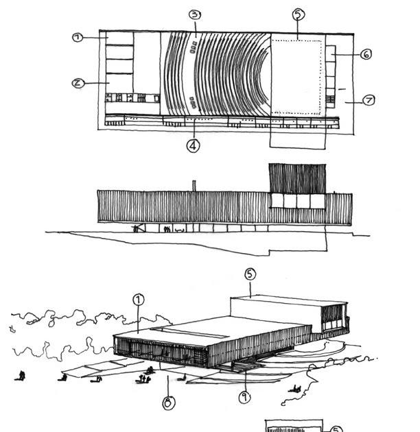 Dibujos de arquitecto architect drawings centro - Trabajo arquitecto barcelona ...
