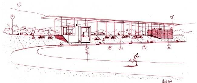 Dibujos de arquitecto architect drawings pista - Trabajo arquitecto barcelona ...