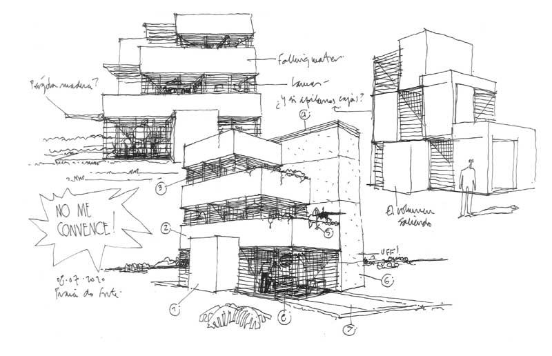 Dibujos de arquitecto architect drawings 100709 - Trabajo arquitecto barcelona ...