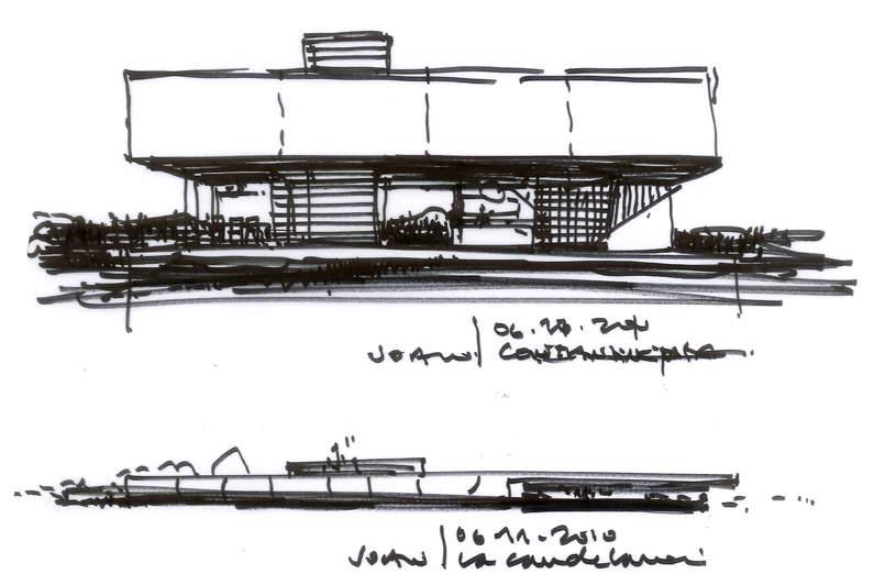 Dibujos de arquitecto architect drawings 101109 la - Trabajo arquitecto barcelona ...