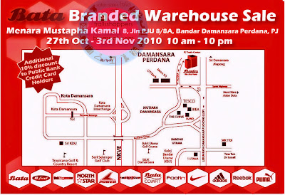 Bata Branded Warehouse Sale
