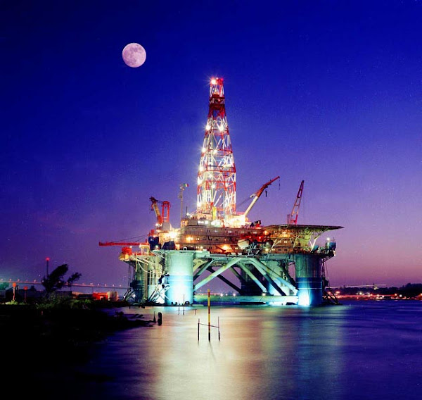 el petroleo de México en el Carmen