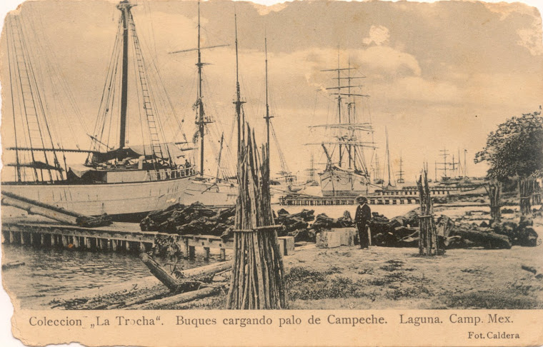 buques cargando palo de tinte, fot jbcaldera ca 1910