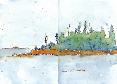 Vacation Journal Lake Superior Circle Tour Made From A Recycled Vintage Book