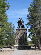 Donner State Park Statue