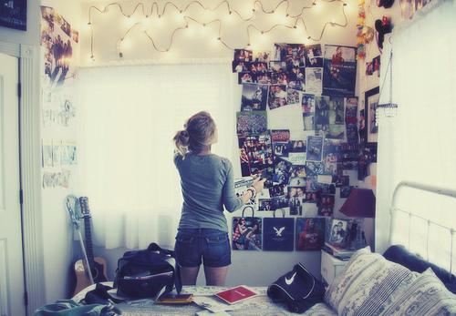 Coisa de menina o quarto dos seus sonhos for Mural dos sonhos o segredo