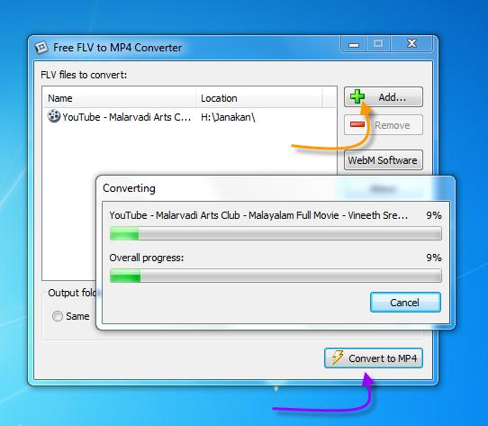 Free FLV Converter download