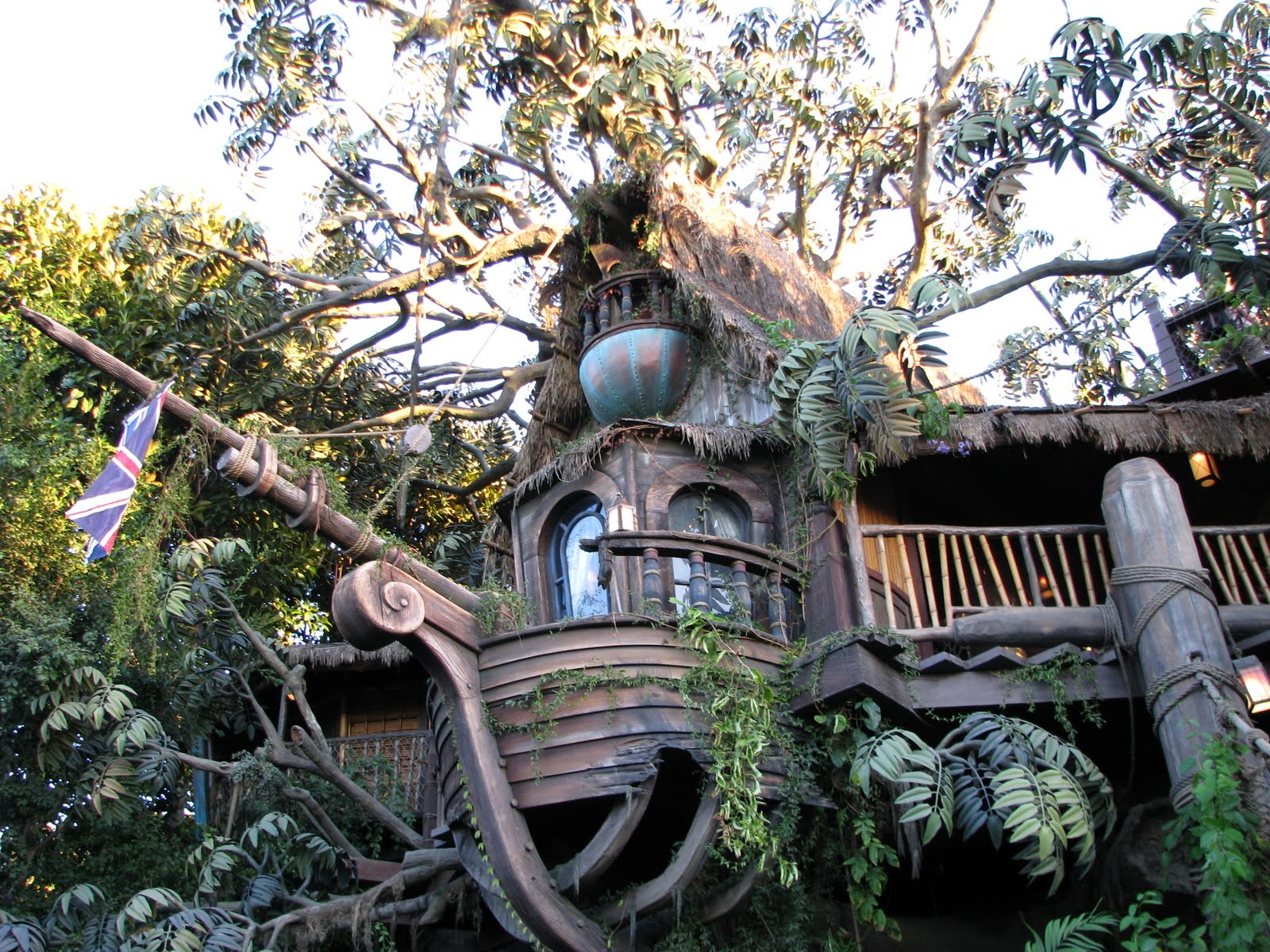 Красивые дома на дереве