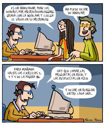 Tecnología/pedagogía