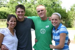 Angelina, Grant, Evan, Claire