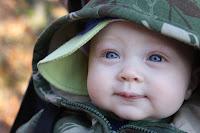 My little blue eyed boy, my son...