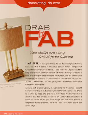 crafts for home decor: drag to fab: lampshade