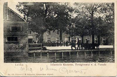 Postcard from Leiden