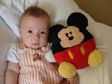 Julian with Mickey Mouse