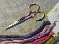"My New ""Elena"" Gingher Scissors & Gentle Art Floss~Two of My newest Favorites"