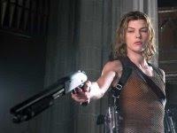 Alice (Mila Jovovich) in Resident Evil IV