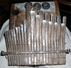 Mbira (African thumb piano)