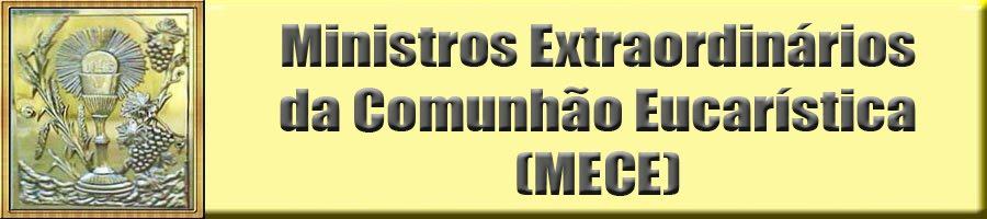 Ministros Extraordinários da Comunhão Eucarística
