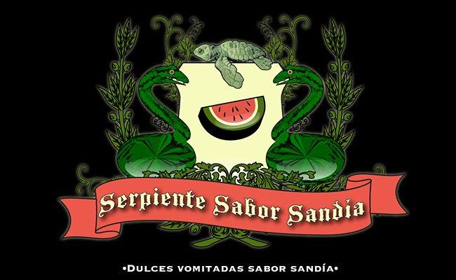 Serpiente sabor Sandía