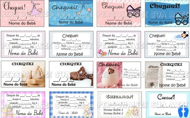 Ideias De Cart  Es Para Lembrancinha De Maternidade