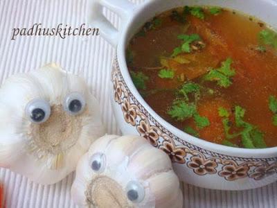 Poondu rasam-Garlic Rasam