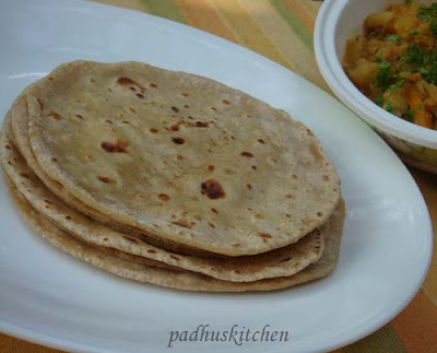 How to make Soft rotis - Indian flat bread | Padhuskitchen