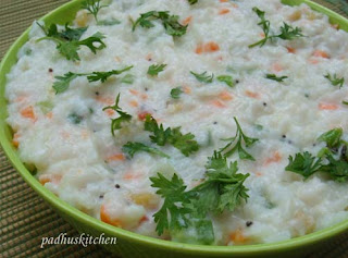 seasoned curd rice