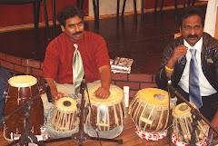 Srinu & Dany with Tabla