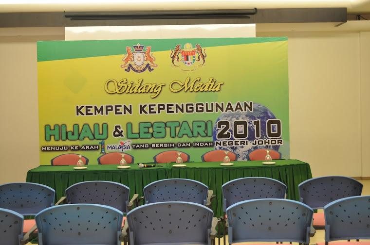 Sekitar Majlis Kempen Kepenggunaan Hijau & Lestari N. Johor 2010
