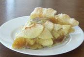 Apple custard pie, Dog Hill Kitchen