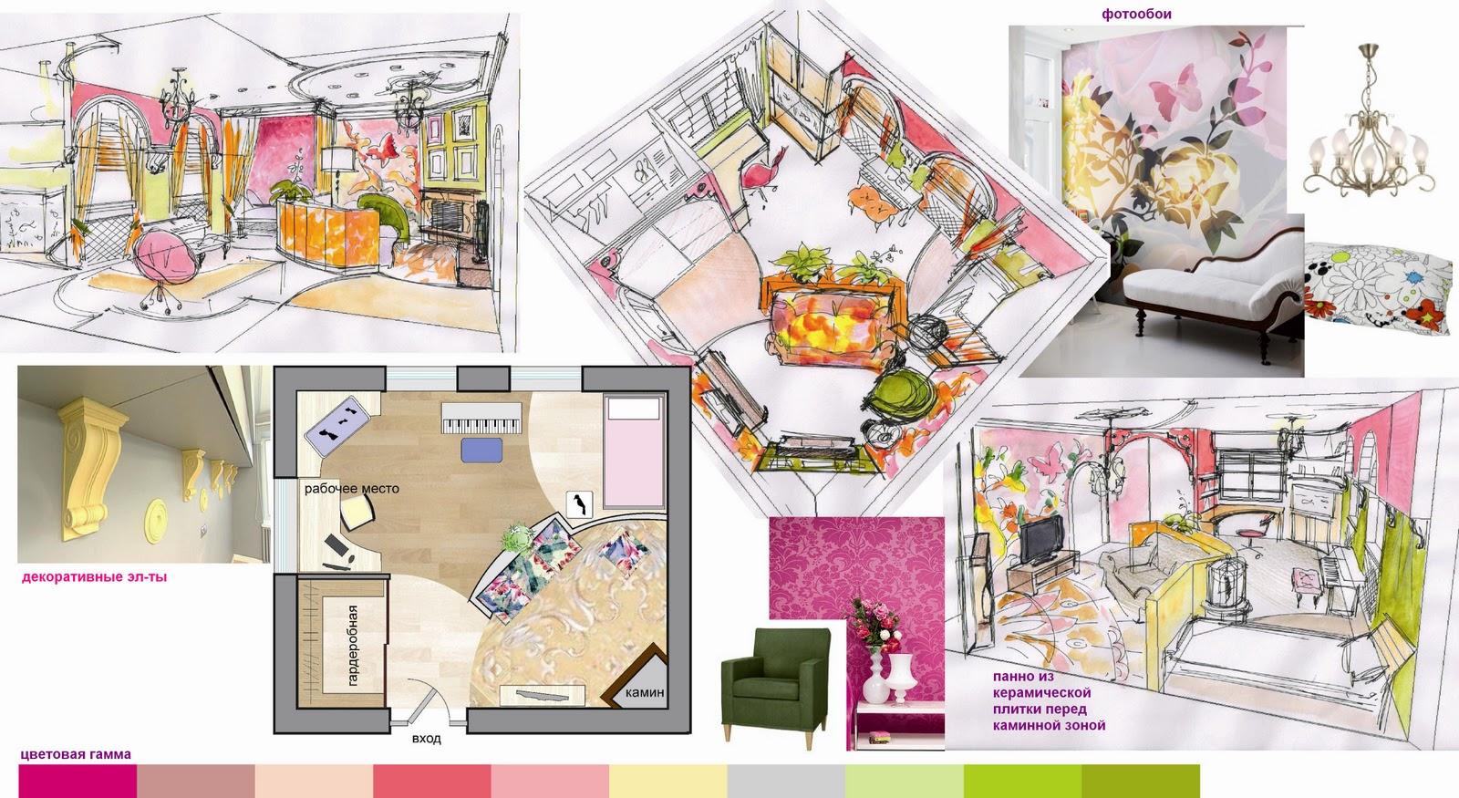 Детская комната для девочки 12 лет дизайн