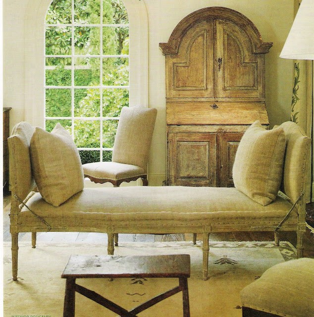 Photography by Peter Vitale, seen in Veranda Magazine Oct. 2006, edited by lb for linenandlavender (l&l)