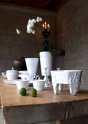 Astier de Villate ceramics photo from Trove as seen on (l&amp;l)