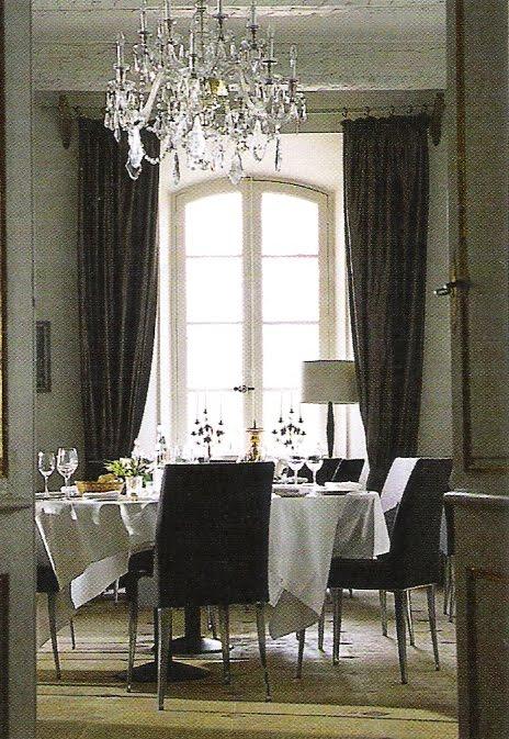 Dining room - Côté Sud Dec 04-Jan 05 - as seen on linenandlavender.net