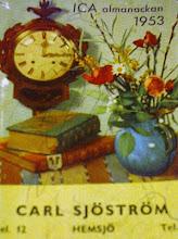 Min gamla almanacka ... Året var 1953