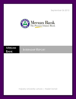 final project report on meezan bank Meezan bank limited  directors' report  congratulate all the stakeholders of the project on achieving this significant milestone & commend them for.