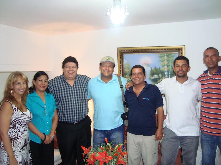 VISITANDO UNA PAREJA ESPECTACULAR ... CARLOS MORA Y SU ESPOSA IVONNE.