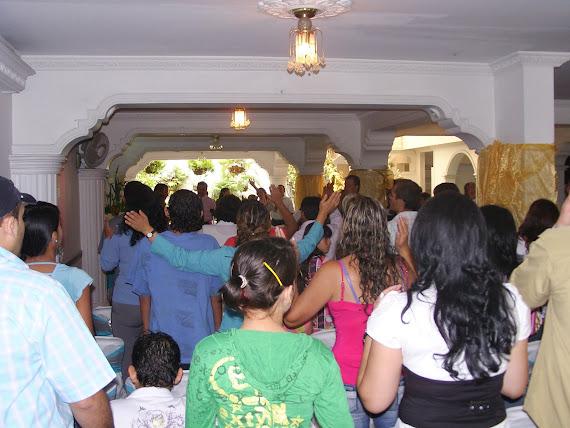 El Centro de Transformacion Integral en Medellín, se goza en la Presencia de Dios...