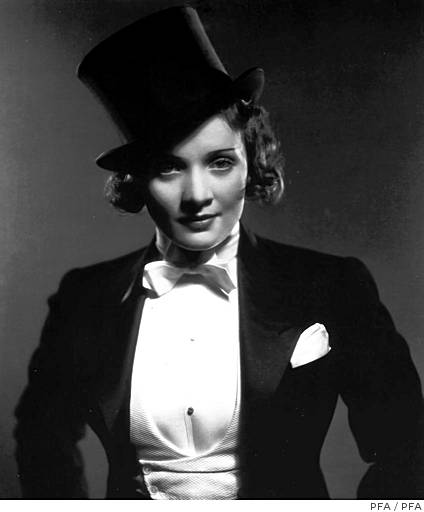 Marlene Dietrich as Amy Jolly in Morocco