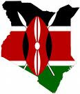 Flag/Map - Kenya