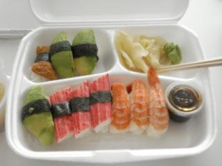 sushi och gravid