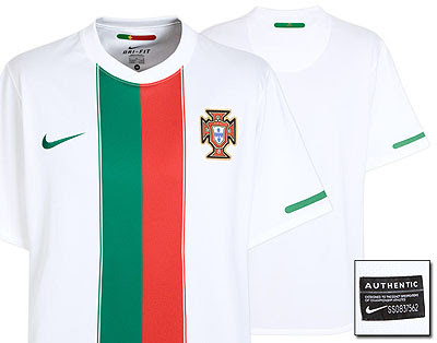Portugal Away Shirt 2010/12