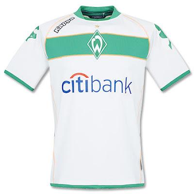 Werder Bremen Home shirt 2008 2009