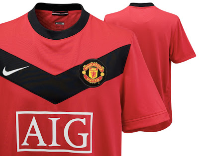 Manchester United Home Shirt 2009/10