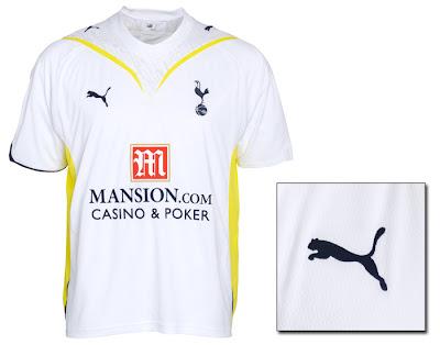 Tottenham Hotspur Home Shirt 2009/10