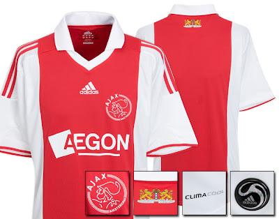 Ajax Home Jersey 2009/10